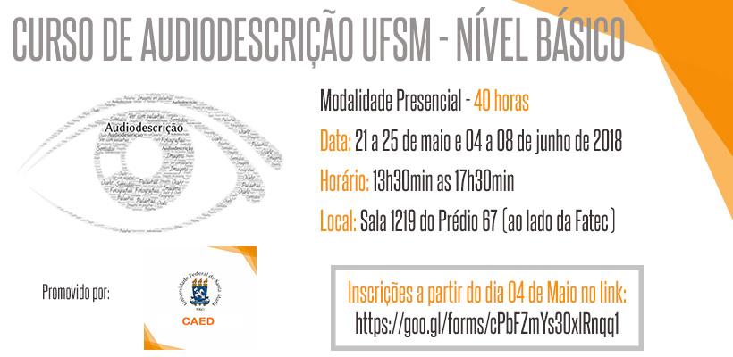 2018 curso de audiodescrção flyer 1