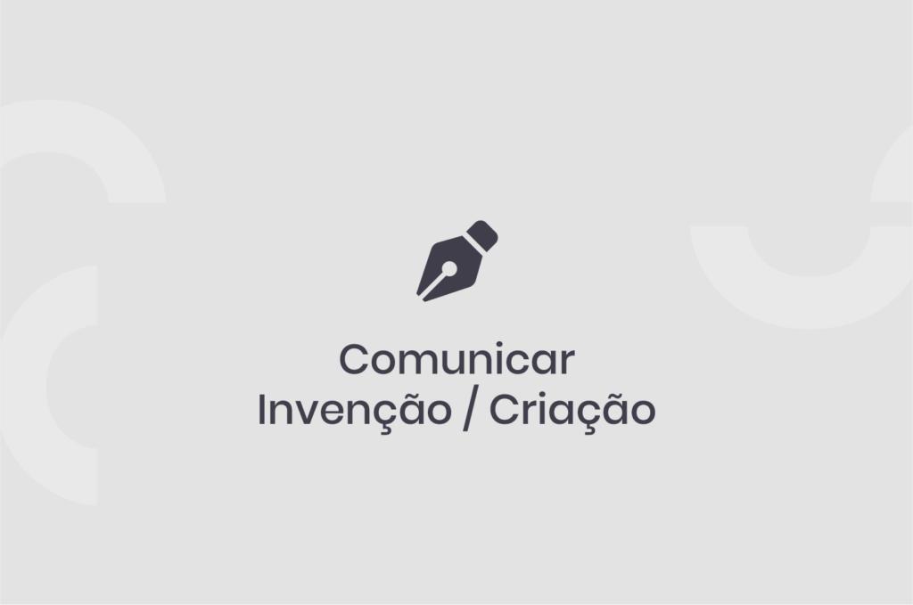 Comunicar Invenção/Criação