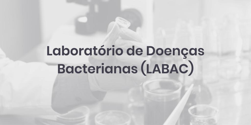 Laboratório de Doenças Bacterianas (LABAC)