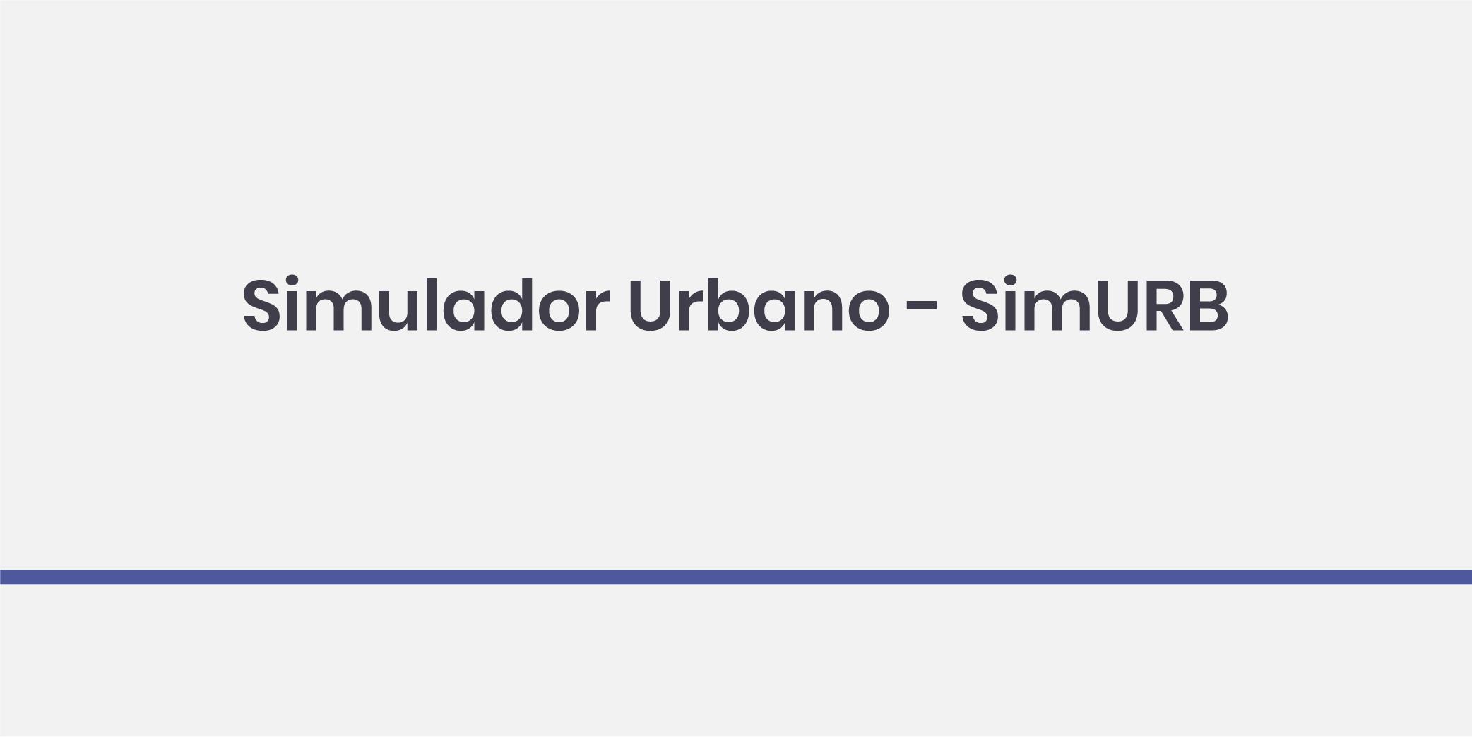 Simulador Urbano - SimURB