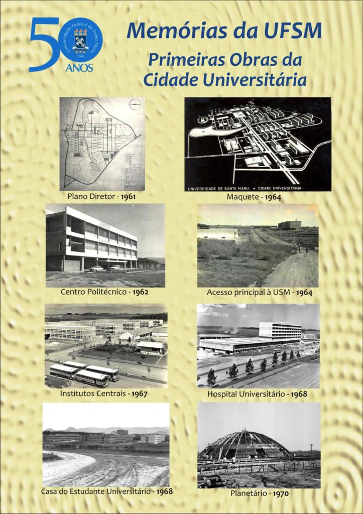 UFSM 50 anos exposio painel 3