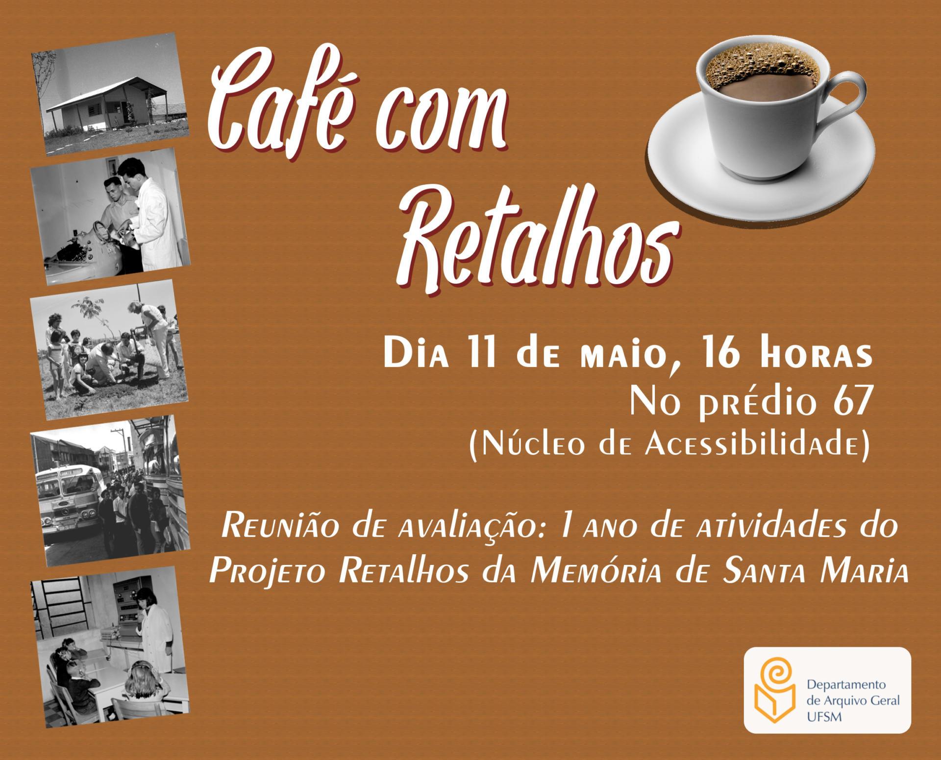 Convite 1 ano Projeto Retalhos