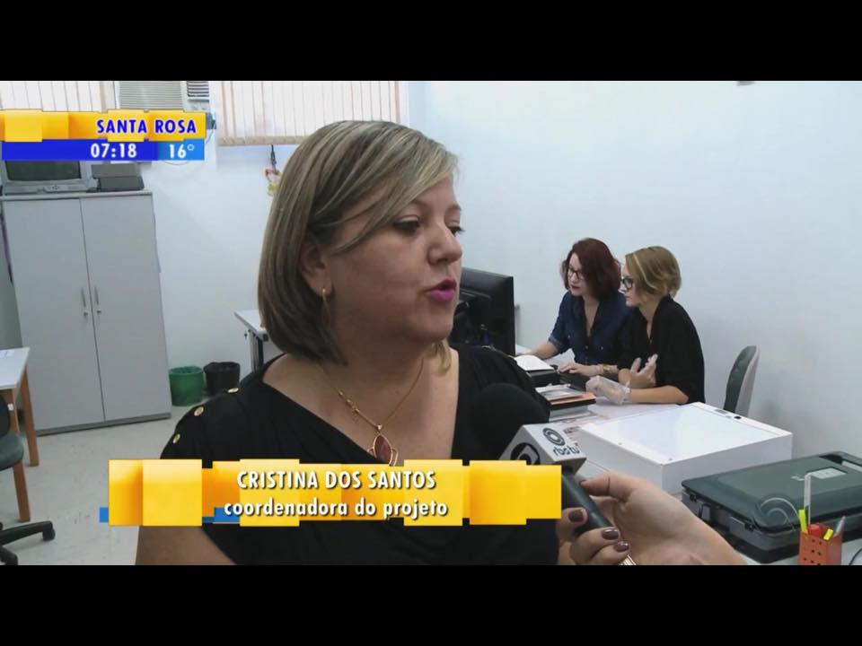 Entrevista RBS TV Projeto Retalhos