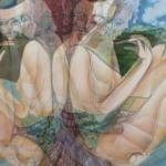 Obra: Verdades Transitórias 3 (código 215/217GD-4). Dimensões: 40 x 28 cm. Técnica: gravura digital seriada, sete cópias (impressão em papel)