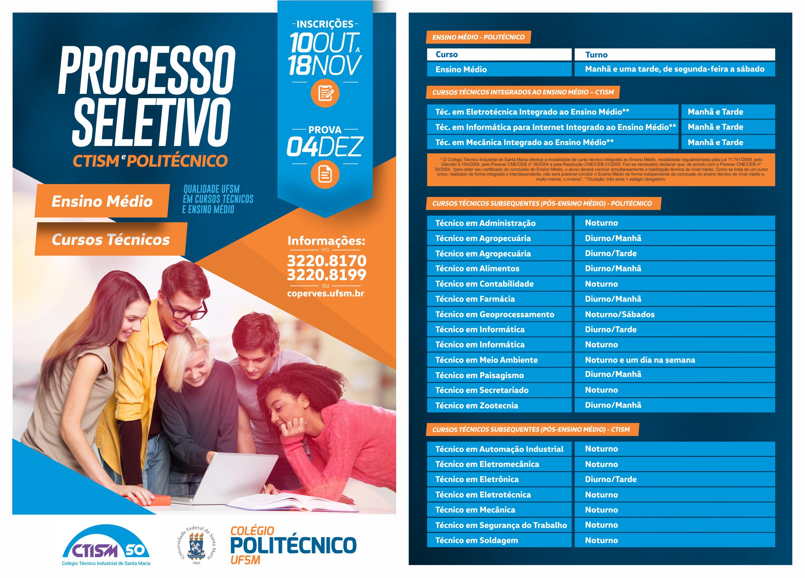 POLITECNICO ProcessoSeletivo 2