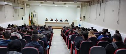 Reunião da Cespol antes da pandemia