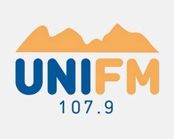 Marca da UniFM 107.9
