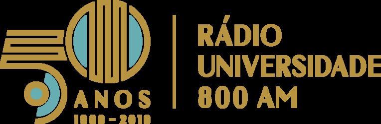 Selo comemorativo do cinquentenário da Rádio Universidade AM