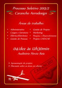 Carancho Processo Seletivo 2015 2
