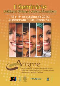 Cartaz Afirme 2016