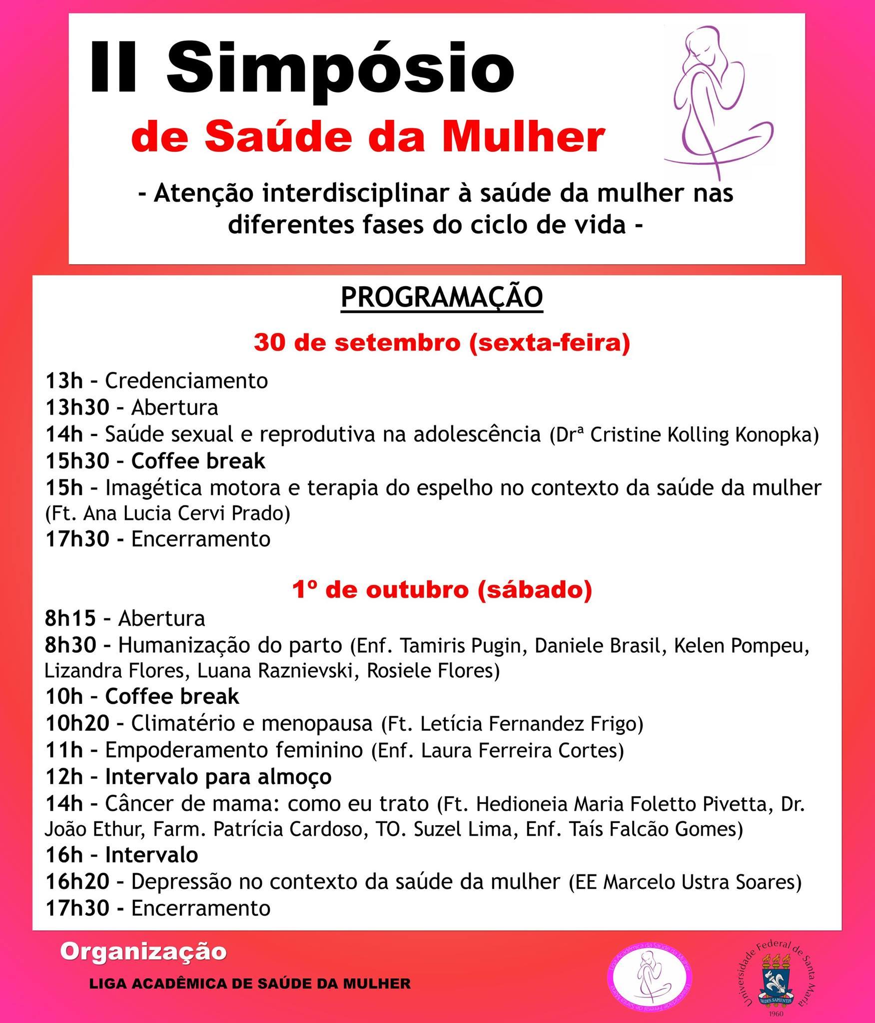 SIMPOSIO SAUDE DA MULHER