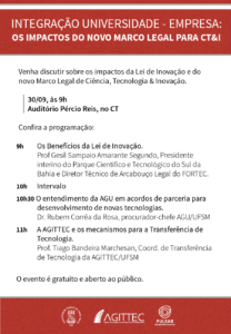 agittec os impactos do novo marco legal para cti