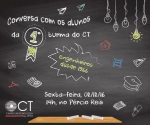CONVERSA COM PRIMEIRA TURMA DO CT