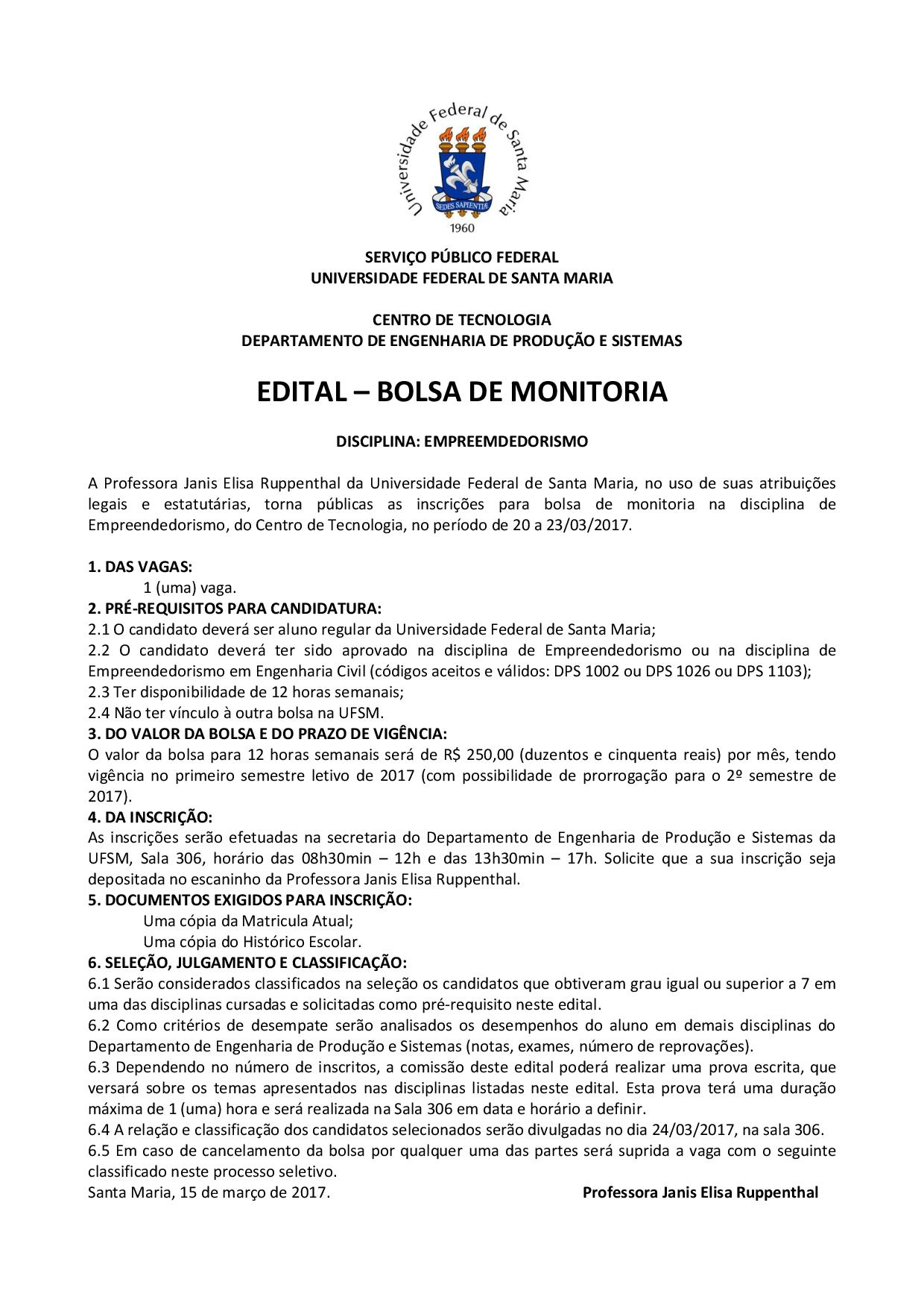 monitoria dps