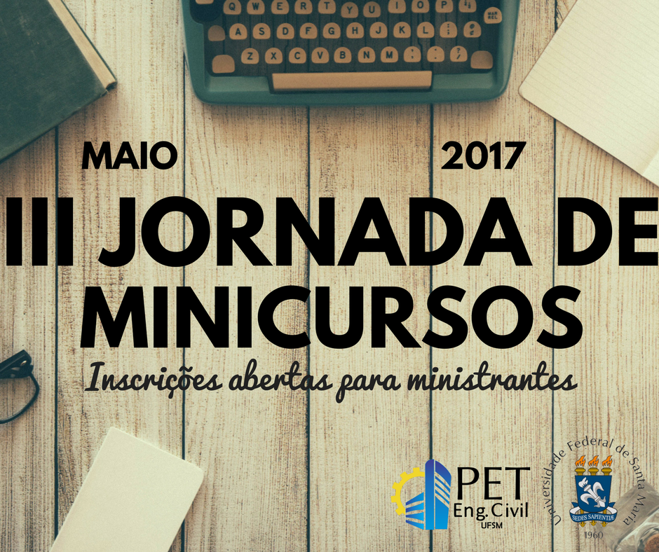 minicursos pet eng civil