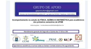 GRUPO DE APOIO CCNE