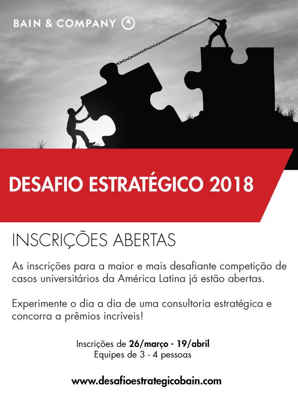 DESAFIO ESTRATEGICO BAIN COMPANY