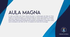 aula magna consul italia