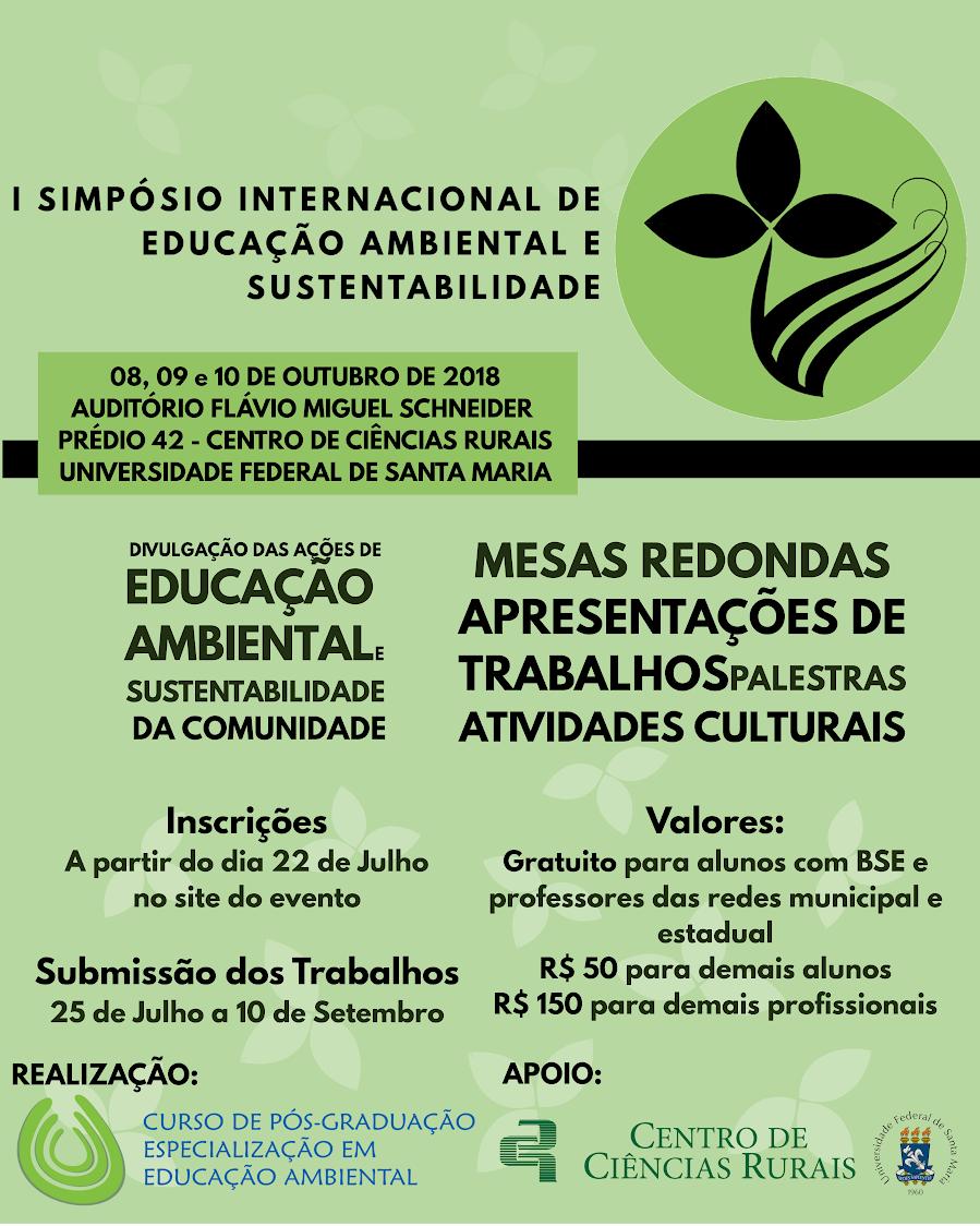simposio internacional ed ambiental