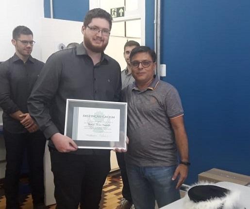 Formatura 2018/2 - Bernardo Hermes Rampelotto