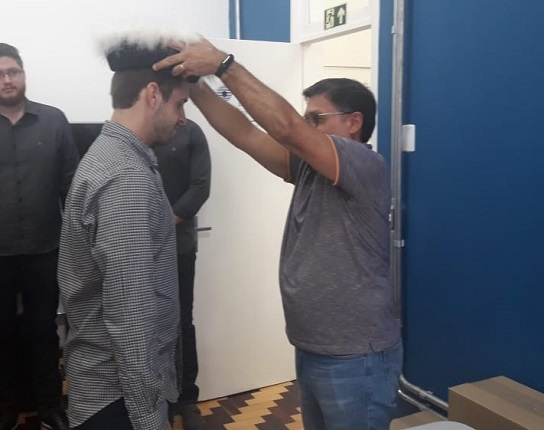 Formatura 2018/2 - Darci Luiz Binkowski Júnior