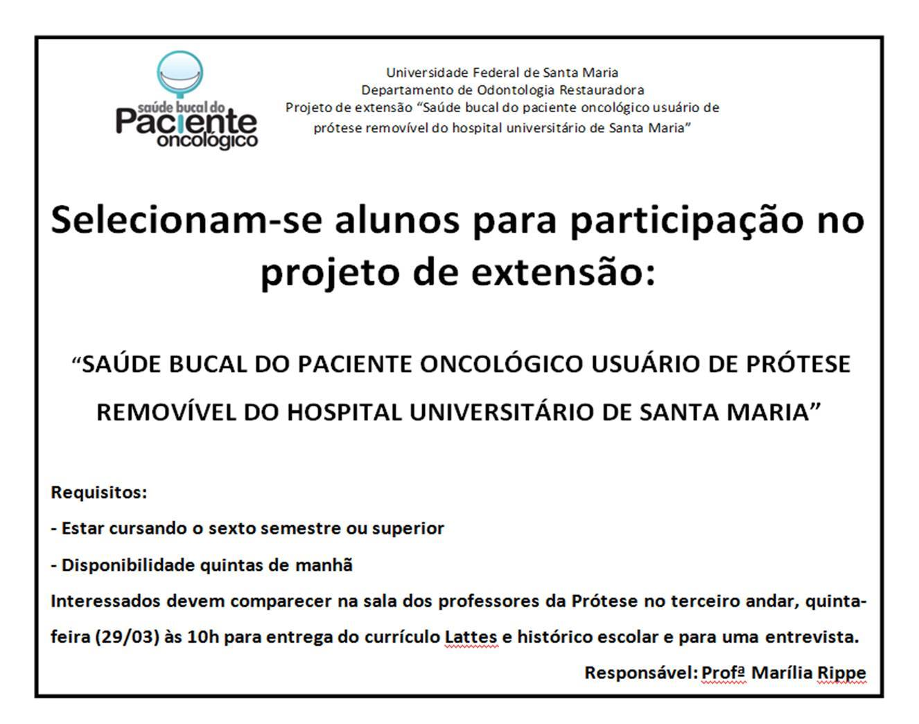 saude bucal do paciente oncologico