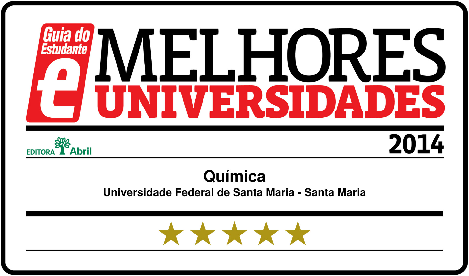 Selo Guia do Estudante - 2014-1
