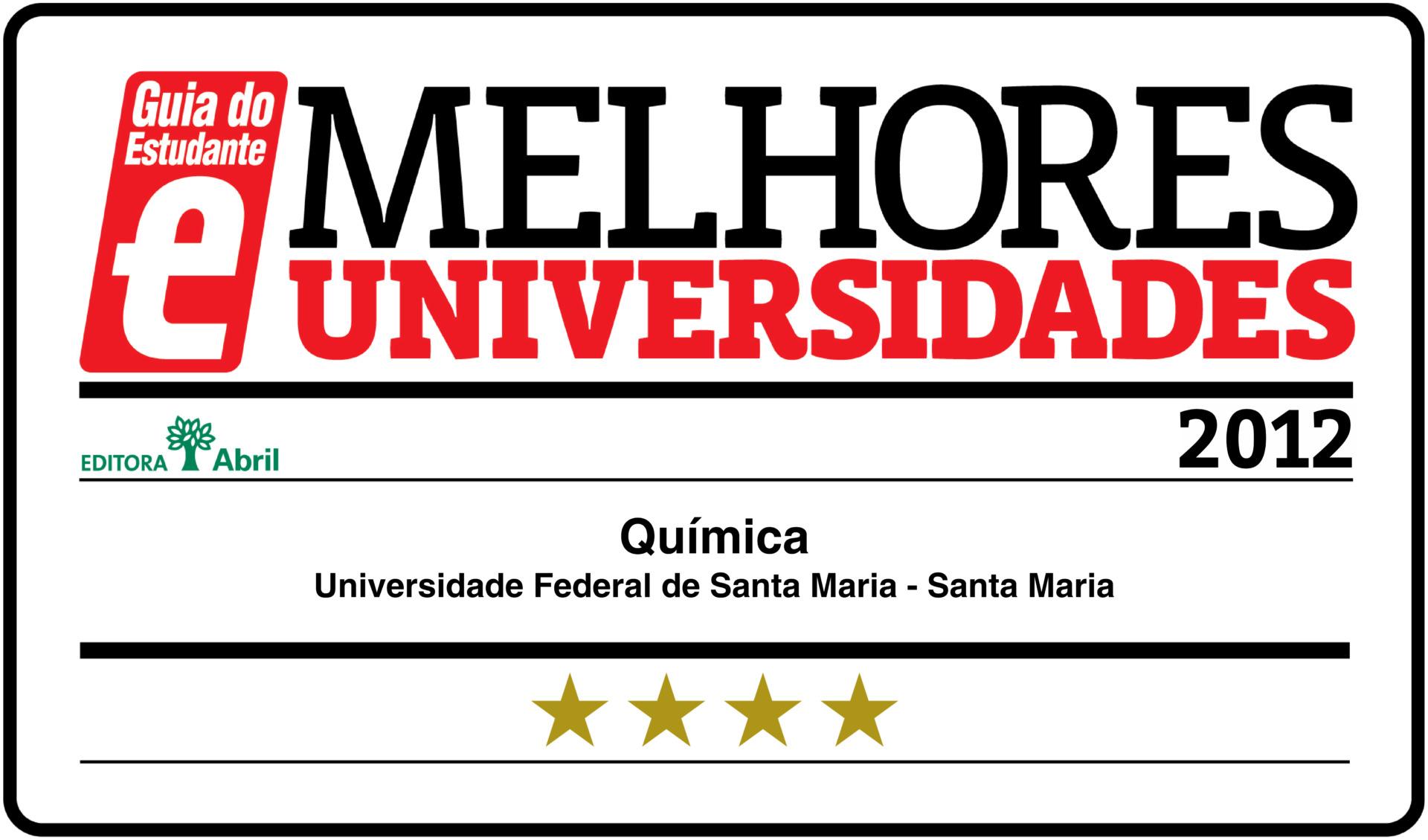 Selo Guia do Estudante - 2012