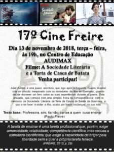 Convite para o Cine Freire