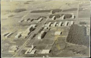 Foto de Vista aérea do Campus da Universidade Federal de Santa Maria – UFSM, em 1971