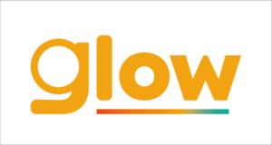 Identidade visual da marca fictícia Glow