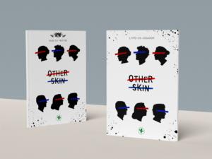 Representação gráfica em 3D das capas dos livros, Guia do Mestre e Livro do Jogador criados para o jogo de RPG Other Skin.