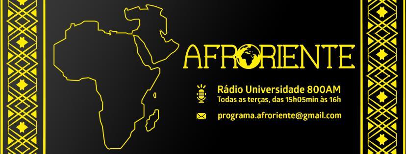 Capa Fanpage AfroOriente Fundo preto