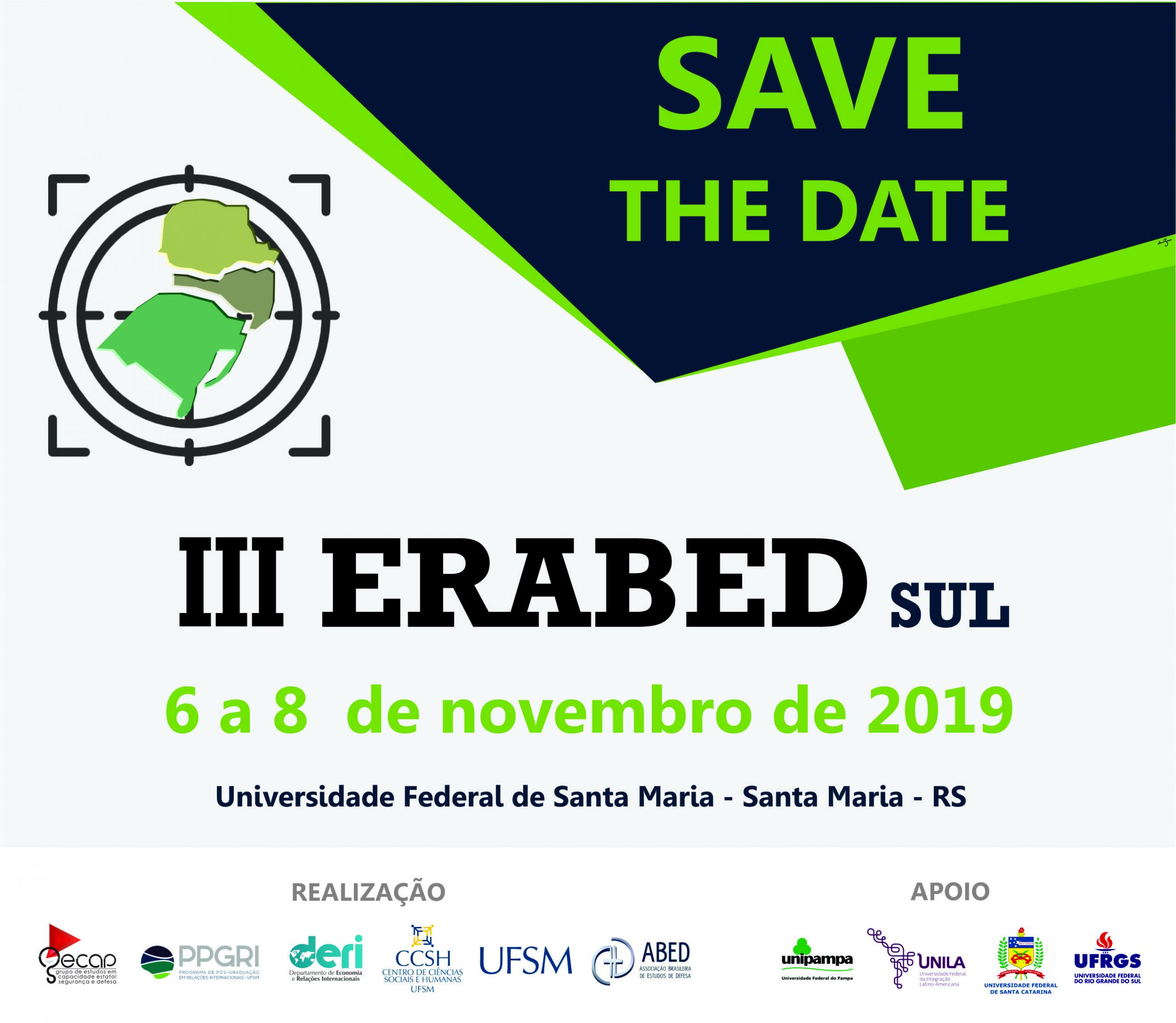 SAVE the date ERABED