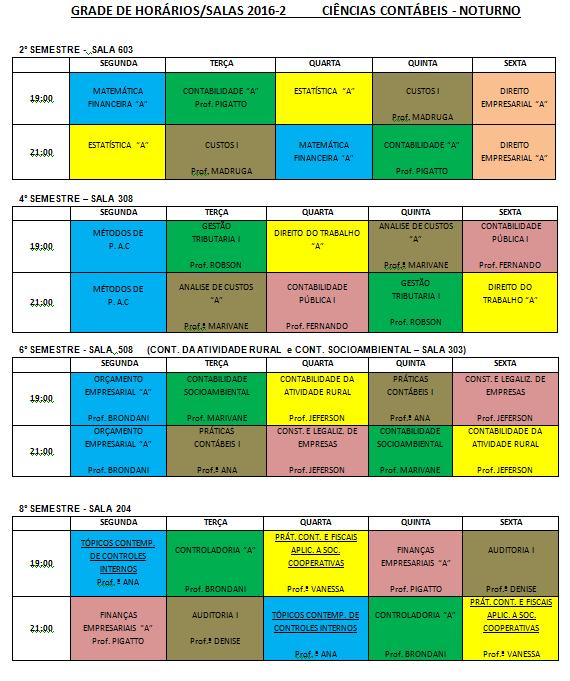 horario 2016-2noturno