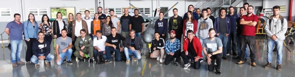 Visita ao Esquadrão Horus - ALA 4 - Força Área Brasileira - Santa Maria-RS