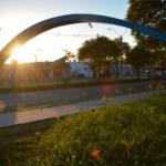 Foto da entrada da Universidade Federal de Santa Maria (UFSM)