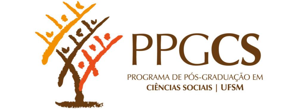 Logo do Programa de Pós-Graduação em Ciências Sociais da Universidade Federal de Santa Maria