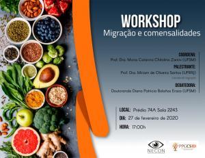 convite para workshop - Migrações