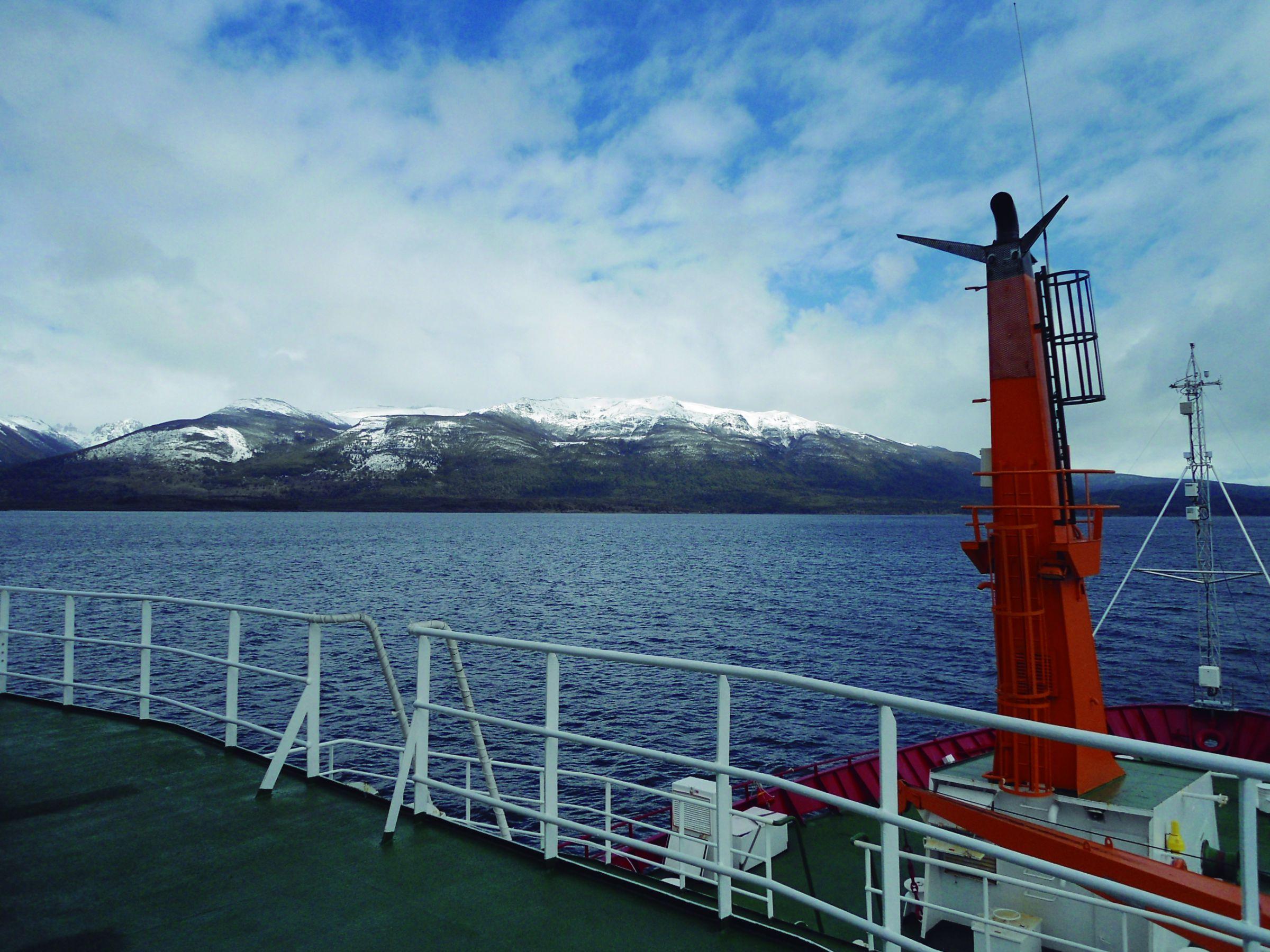 Equipe do Inpe viajou no Navio Polar Almirante Maximiliano à Antártica