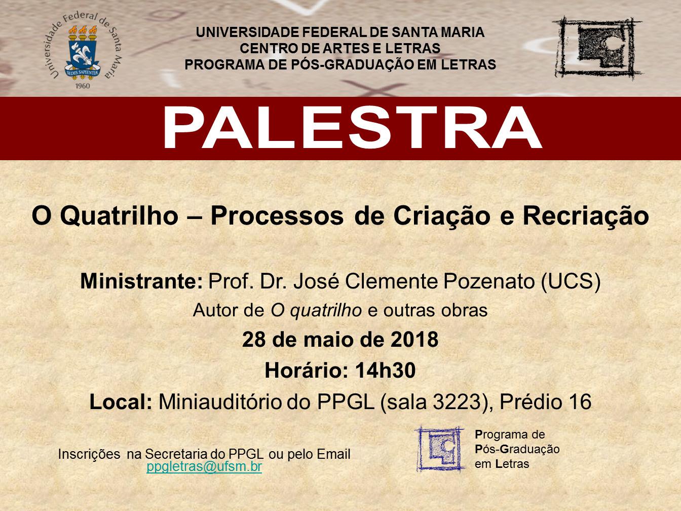 Palestra Dr. José Clemente