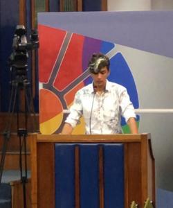 Christian Denardi Vattathara, 3º lugar na categoria Poesia