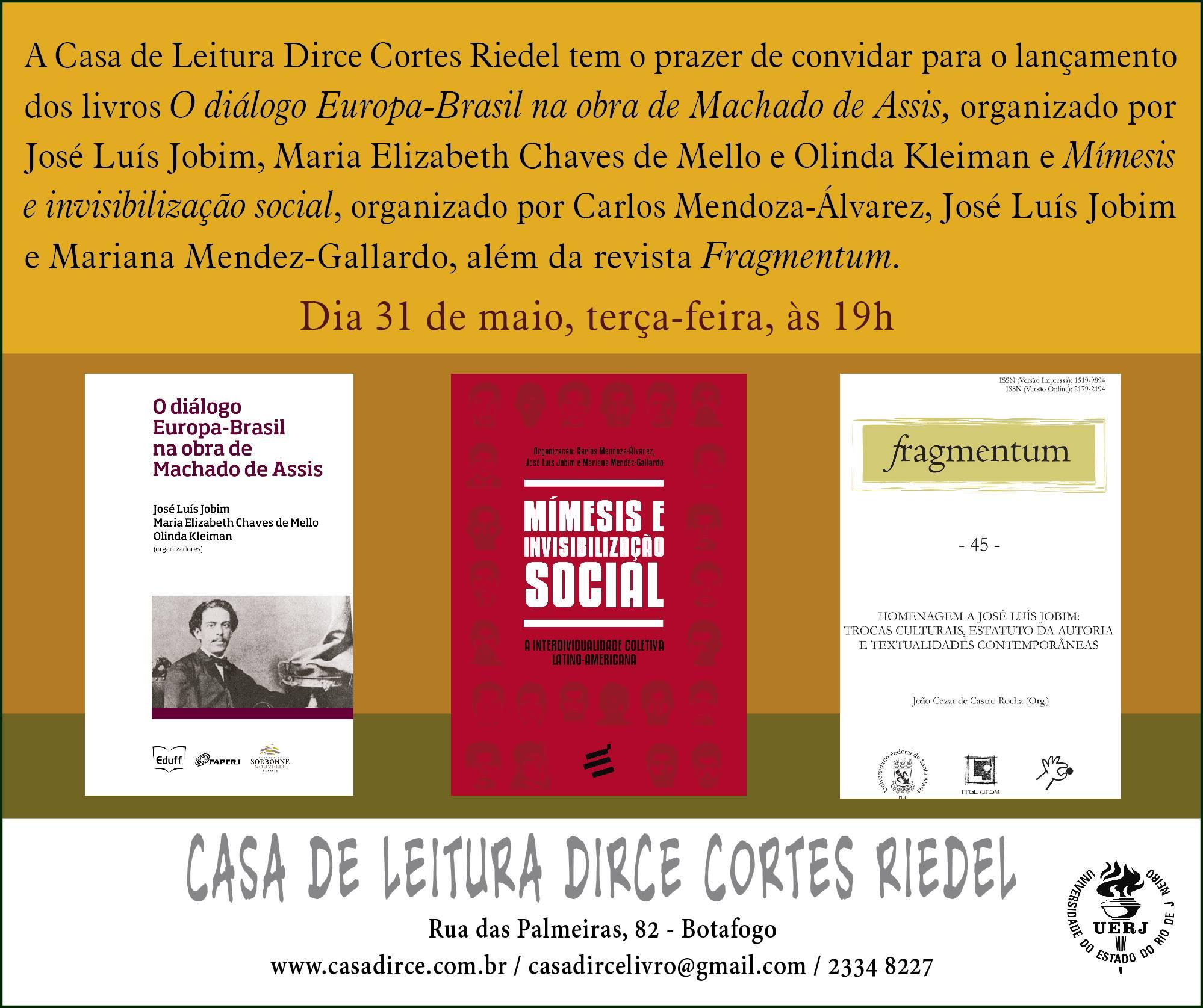 Fragmentum Jobim convite cartaz