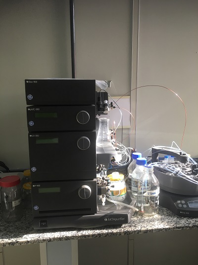 Sistema Cromatografia AKTA