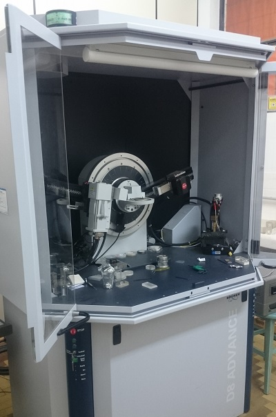 Difratometro de raios x