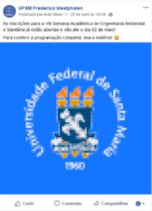 Exemplo de imagem inadequada pixelada