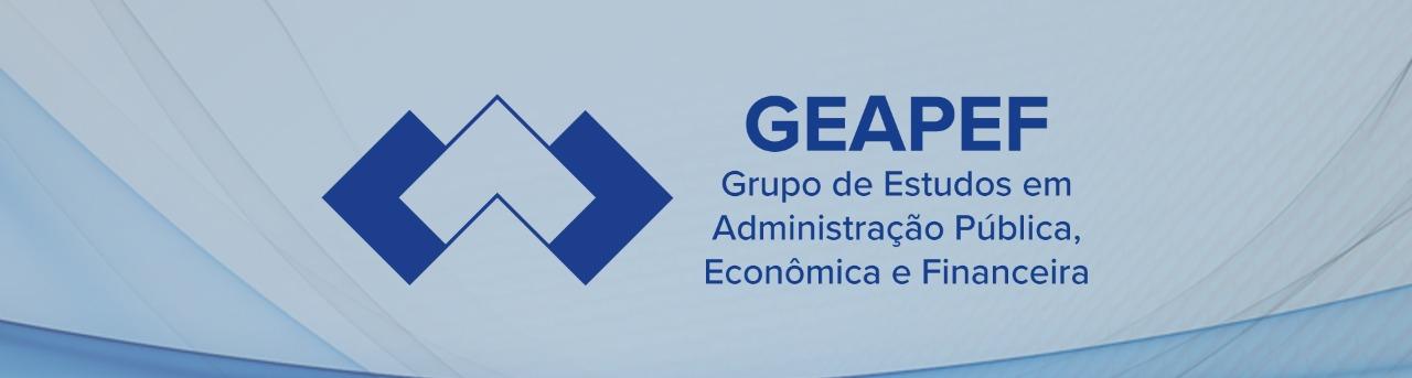 Logo do Grupo de Estudos em Administração Pública, Econômica e Financeira