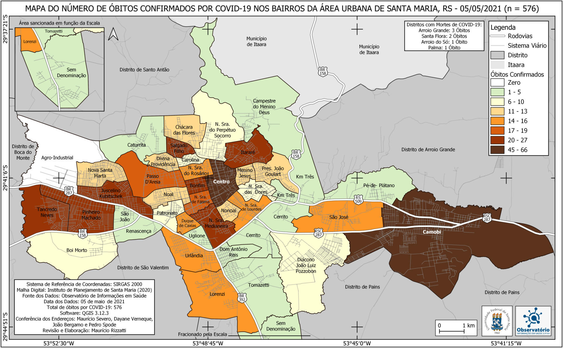 Mapa Óbitos 36 - 05-05-21