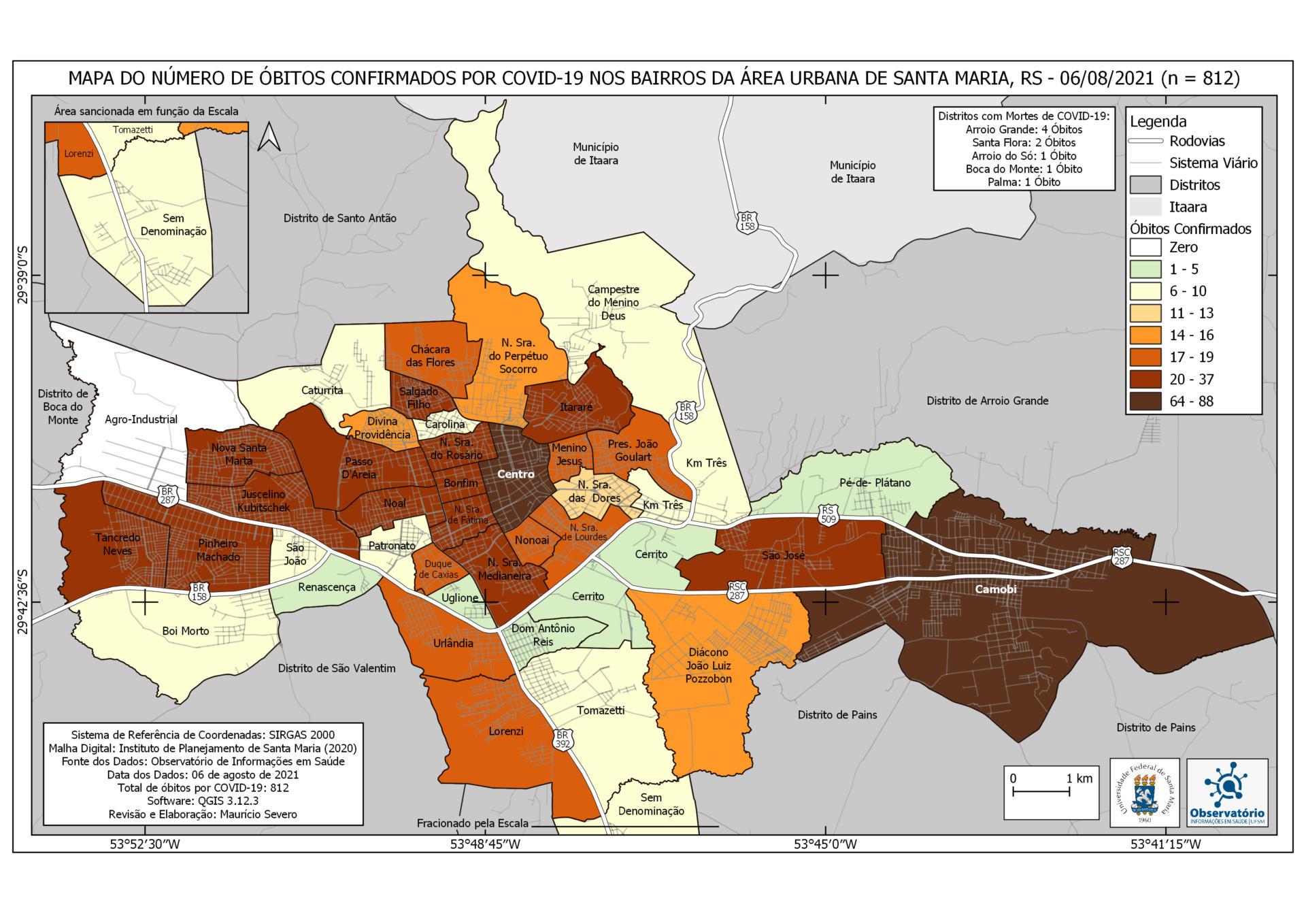 Mapa de Óbitos - 47-2 - 06-08
