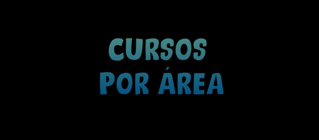 Cursos por área